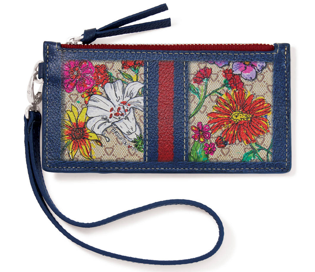 Brighton Fashionista Field of Love Card Pouch