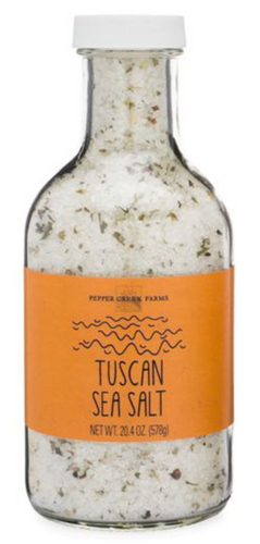Tuscan Sea Salt in Stout Jar