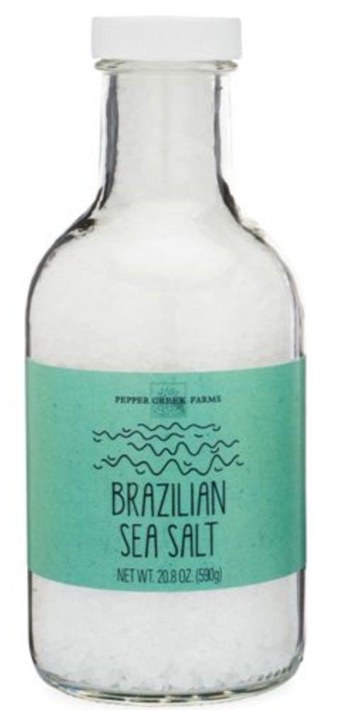 Brazilian Sea Salt in Stout Jar