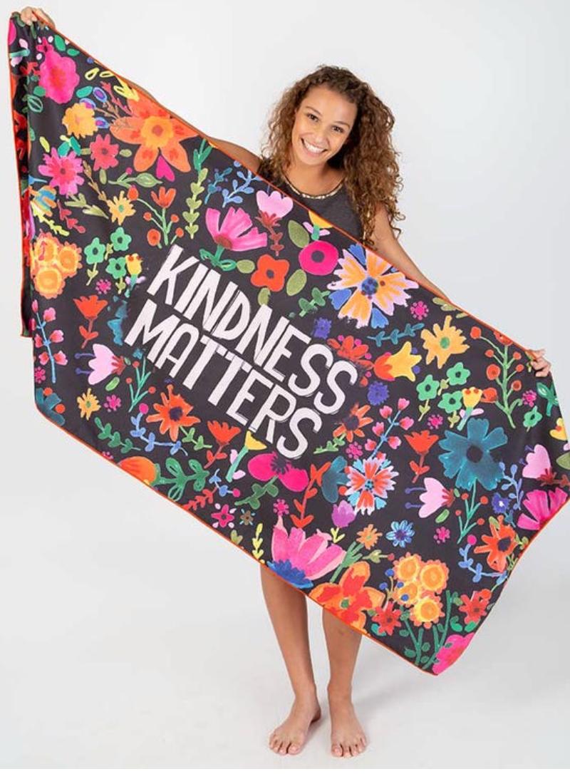 **NEW** Kindness Microfiber Beach Towel
