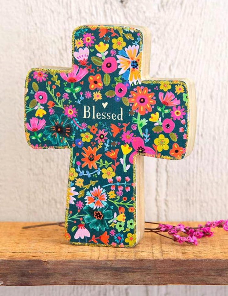 **NEW** Blessed Wood Cross