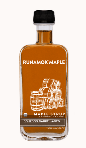 **NEW** Bourbon Barrel-Aged Maple Syrup