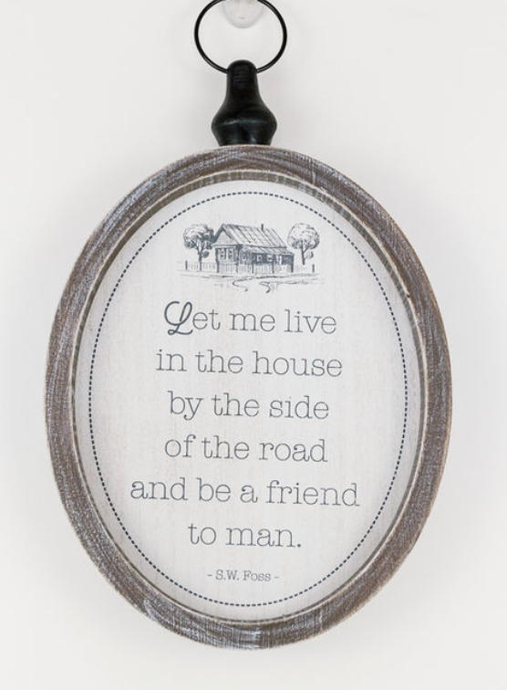 **NEW** Let Me Live in The...Wooden Sign