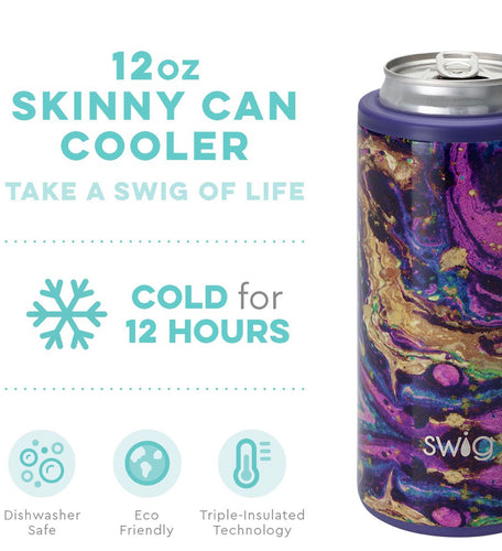 **NEW** Swig Stainless Steel Insulated Skinny Can Cooler