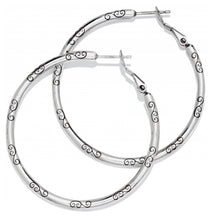 Brighton Large Hoop Charm Earrings