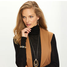 Brighton Meridian Swing Two-Tone Necklace