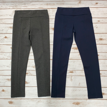 Knitted Legging with Elastic Waist