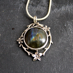 Wee labradorite beauty $195