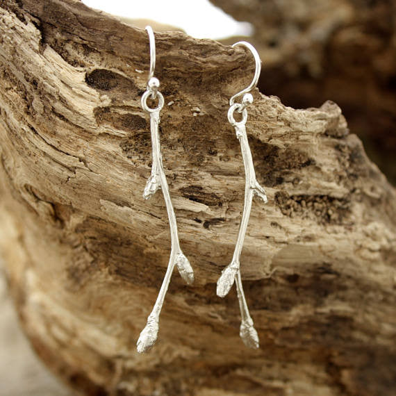 Birch Bud Earrings