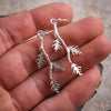 Trinity Oak Branch Earrings