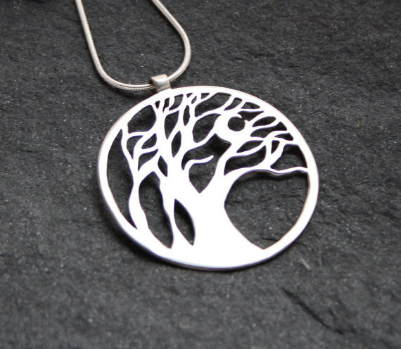 The Wind Swept Tree Pendant