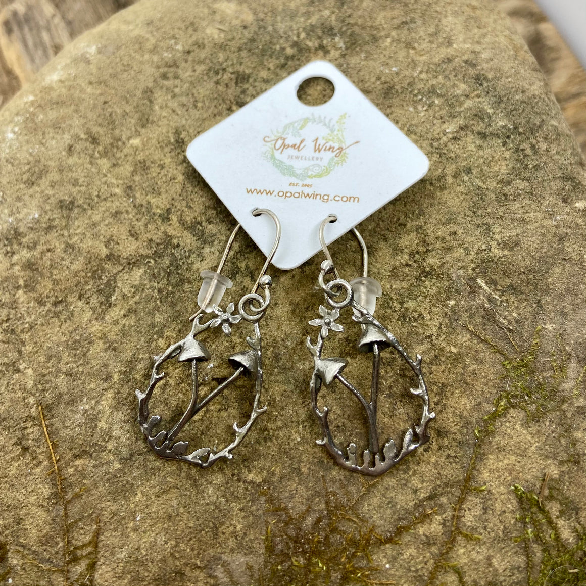 Mushroom Grove Earrings