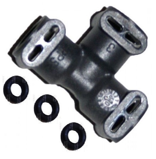 Jura 3-Way Connector with 3 O-rings, Jura GIGA 5, GIGA W3, GIGA X7, S9, X7, X9