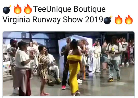 TeeUnique Boutique Summer Runway Collection 2019