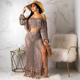 Queen Of Thrones Knitted 2Piece Set (Sizes:S-XL)