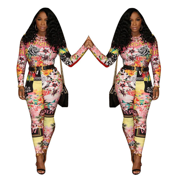 Fashion on ah Hundred Full Body Jumpsuit (S-XXL) Ships from China