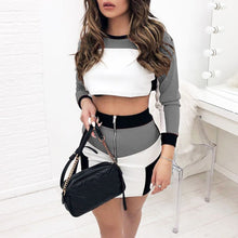 Cute & Sporty Casual 2 Piece Mini Skirt Set (S -XL) Ships from USA or China