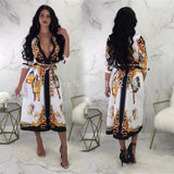 2019 Sexy Indian Heritage Bodycon Dress