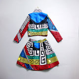 New Hot 2 Piece Cartoon Mini Dress