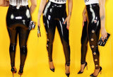 Leather High Waisted Pants Sizes (S -XL)