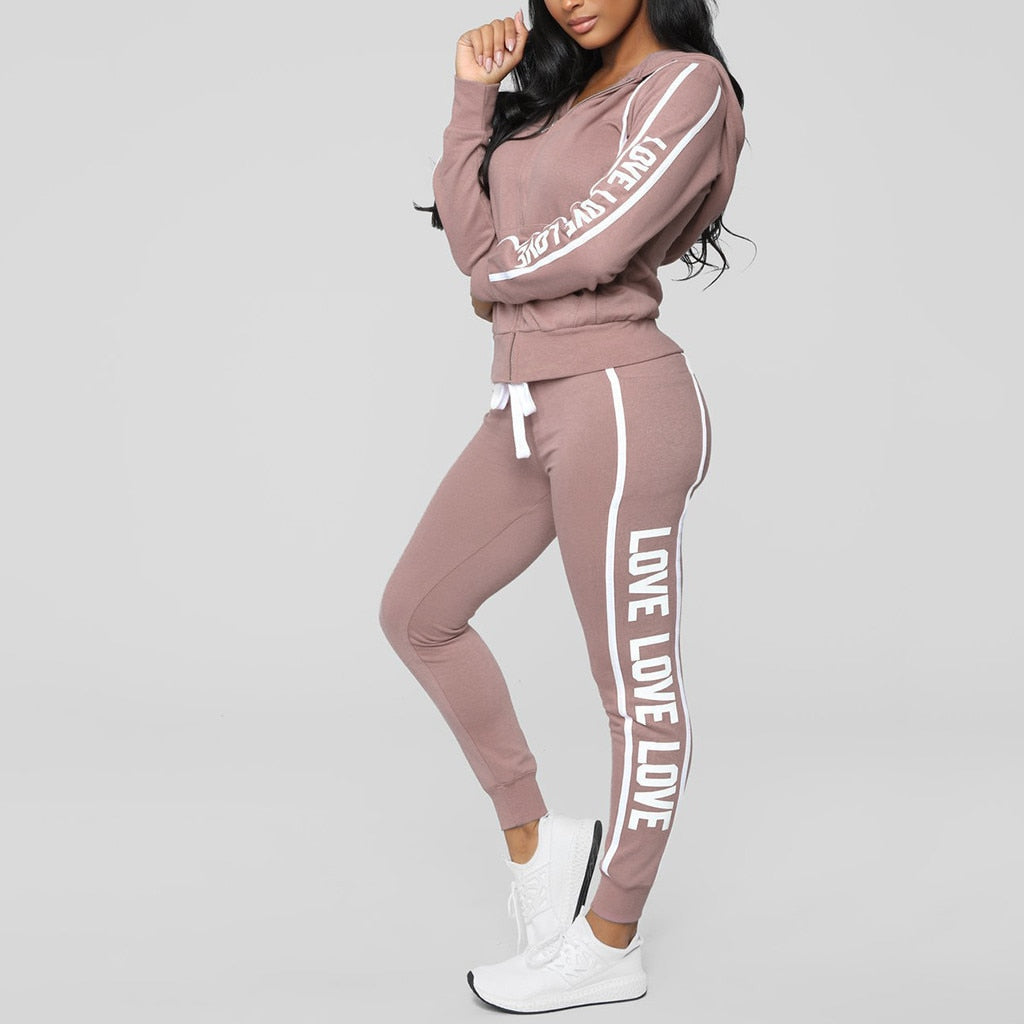 Cute & Comfy 2 piece sweaty set (S-XL) Ships from China or USA