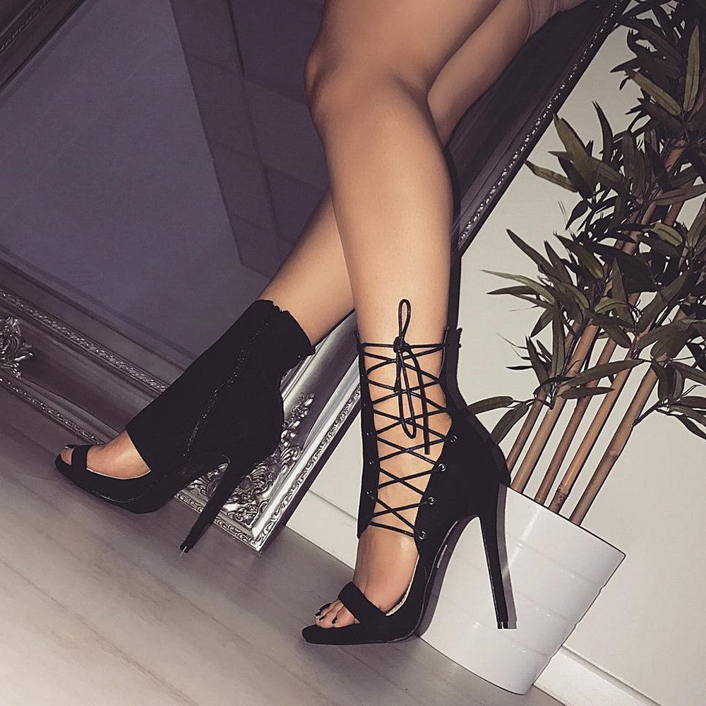 Buckle Strap Sexy High Heels
