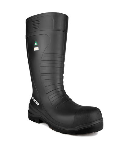 All Terrain, Black | 15'' PU Waterproof work boots | CSA et ESR