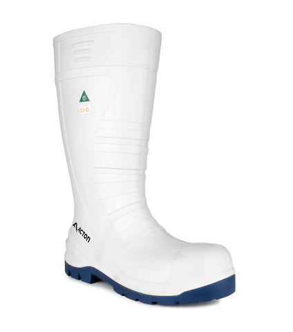 All Terrain, White | 15'' PU agrifood work boots | CSA et ESR