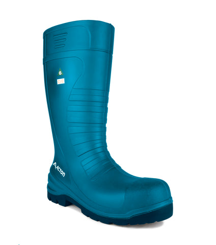 All Terrain, Blue | 15'' PU Agrifood work boots | CSA et ESR