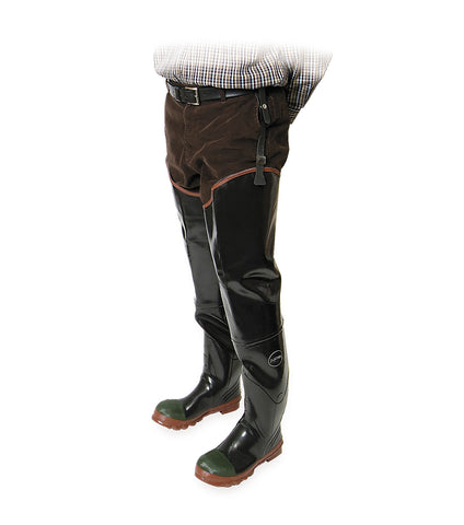 Protecto Hip, Blak | 29'' Waders rubber work boots | CSA & ESR