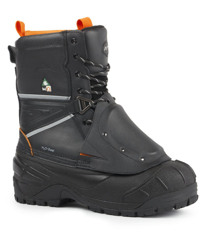 Raider, Black | Winter Work Boots with removable felt liner