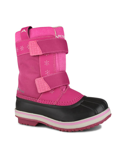 Lea, Pink | Kids winter boots with removable felt