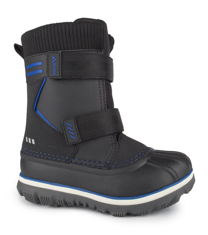 Rocky, Black | Kids winter boots with removable felt