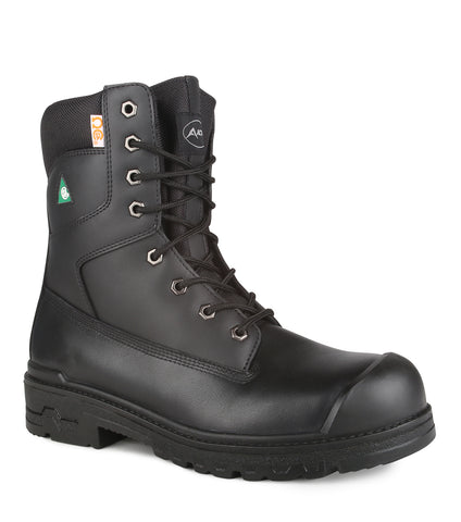 "Prolite, Black | 8"" Leather work boots 