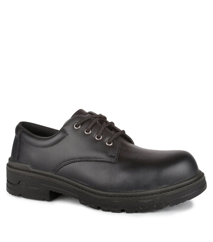 Protector, Black | Safety Work Shoes | Oil Resistant Outsole