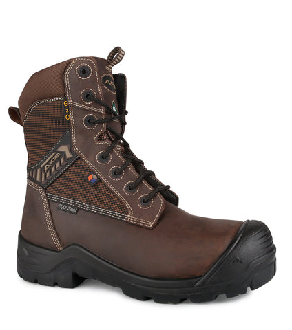 "G2O, Dark Brown | 8"" Work Boots 