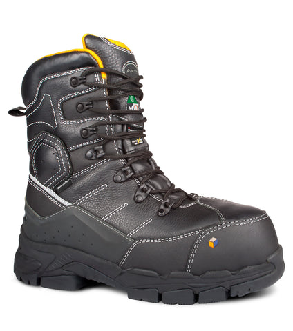 Cannonball, Black | 8'' Winter Work Boots | Insulated 1000 gr