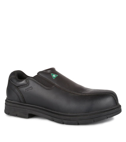 Roosevelt, Black | Slip-on Chemtech Work Shoes