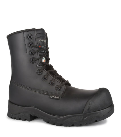 "Electric, Black | Chemtech 8"" Winter Work Boots"