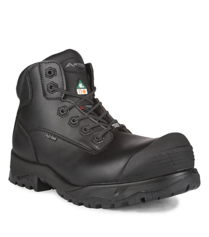 "Spinor, Black | 6"" Work Boots"