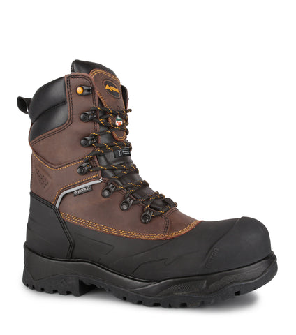 Innova, Brown | 8'' Shell Waterproof Winter Work Boots