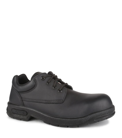 Proall, Noir | Waterproof Leather Safety Work Shoes | CSA & ESR