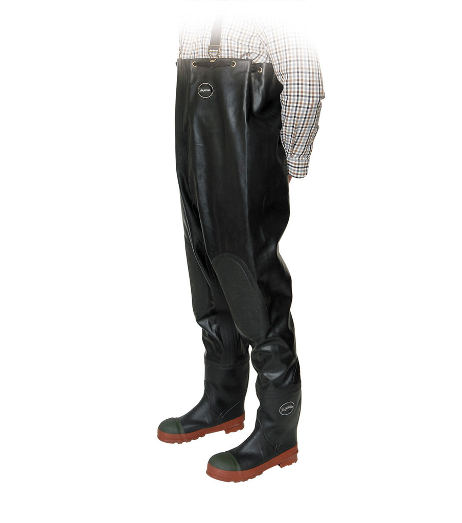 "Bottes pantalon Protecto Chest 51"" en caoutchouc naturel - Acton"
