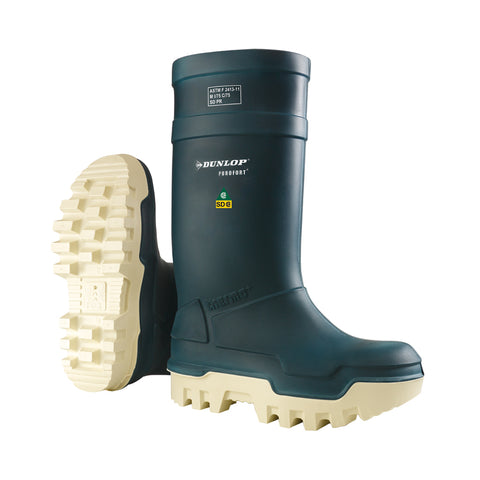 Purofort Thermo+ Full Safety, Blue | Insulated Safety SD Rain Boots