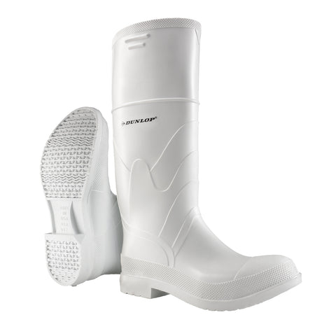 White PVC Steel Toe, White | Food Industry Steel Toe Boots