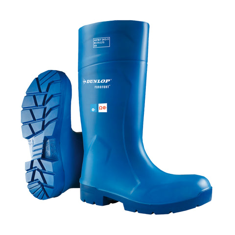 Purofort FoodPro Safety, Bleue | Multigrip Safety Agrifood Boots