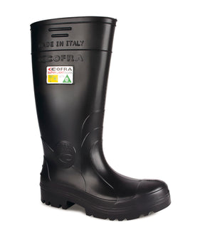 "New Tanker, Black | 15.5"" PU Insulated Work boots"