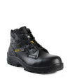 "Liquid, Black | 6"" Work Boots  metal free with anti slip"