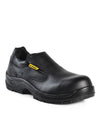 Kendall, Black | Agrifood Microfiber Safety Work Shoes | CSA SD