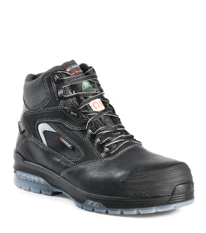 "New Valzer, Black | 6"" Work Boots metal free and anti slip"